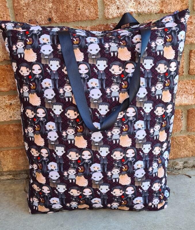 Addams Family Beach Bag