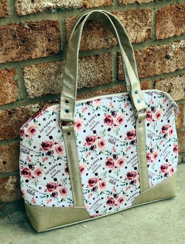 B!tch Soft Shell Foam Briefcase Business Bag