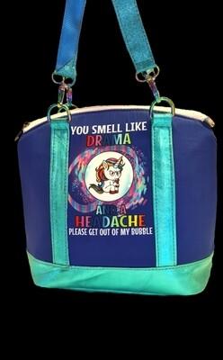 Drama Unicorn leather handbag