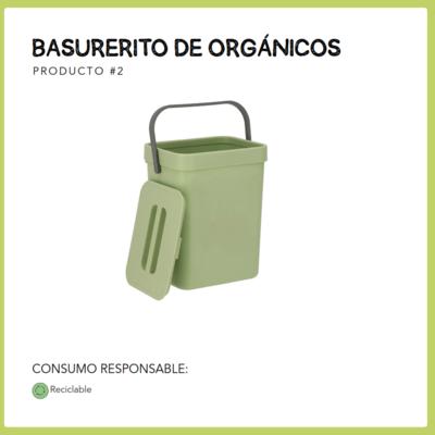 Basurerito orgánicos 5L