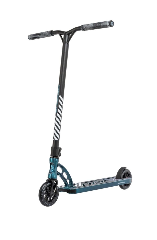MGP Origin Team Liquid Coated  scooter Nickeled Blue triku skrejritenis