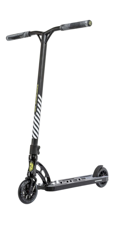 MGP Origin Team LTD Liquid Coated scooter Nickeled Black triku skrejritenis