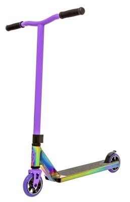 Crisp Surge 2020 Pro Scooter (Neochrome/Purple) triku skrejritenis