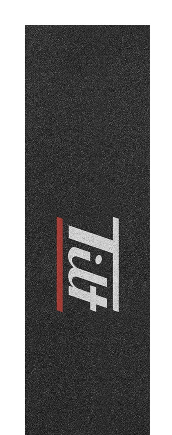 "Tilt Double Bar 6.5"" Pro Scooter Grip Tape (Color: Red)"