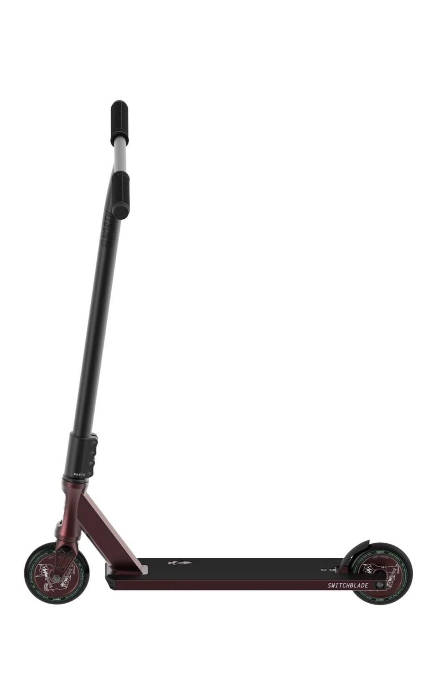 North Switchblade 2020 Pro Scooter (Wine Red & Black) triku skrejritenis