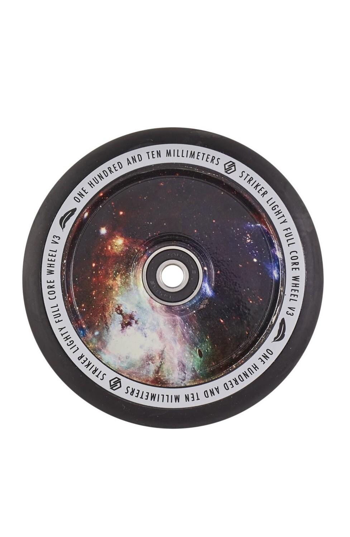 Striker Lighty Full Core V3 Black Pro Scooter Wheel (Color: Galaxy Mix)