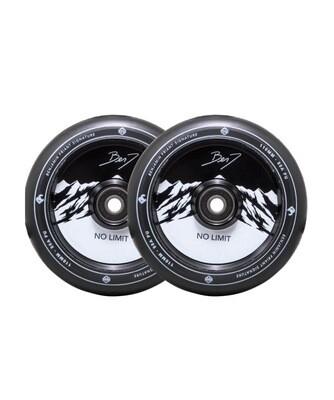 Striker Benj No Limit Pro Scooter Wheels 2-Pack (Color: Black/Black)