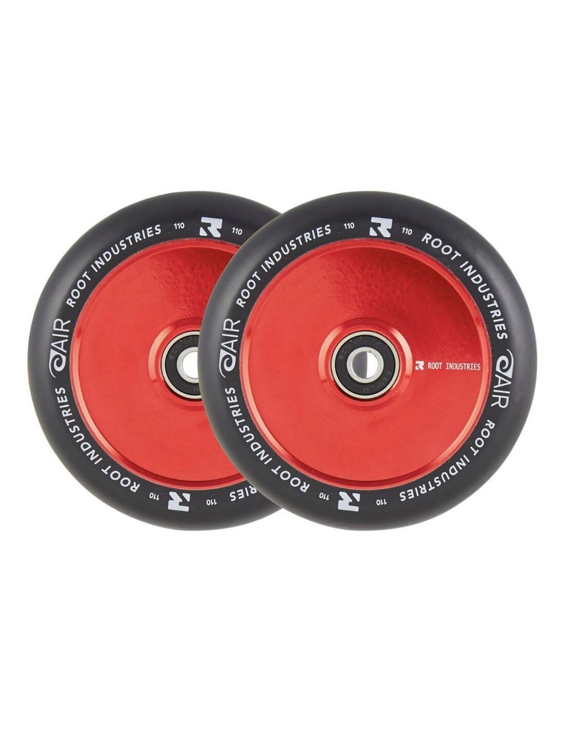 Root Air Black Pro Scooter Wheels 2-pack (Red) Riepas triku skrejritenim
