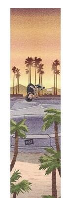 Figz XL Pro Scooter Grip Tape (Kota In Cali)smilšpapīrs triku skrejritenim