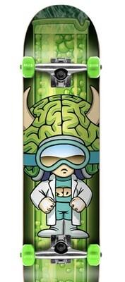 Speed Demons Characters Complete Skateboard (Brainiac)