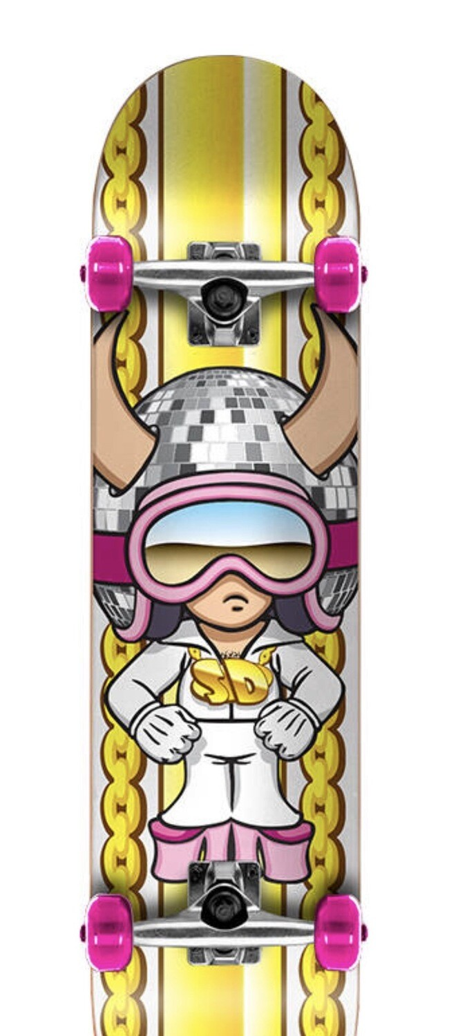 Speed Demons Characters Complete Skateboard (Disco)