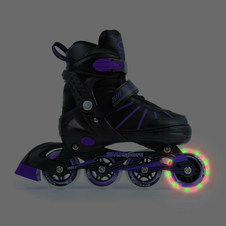 Smj Sport GX-1604 Geena skrituļslidas ar Led