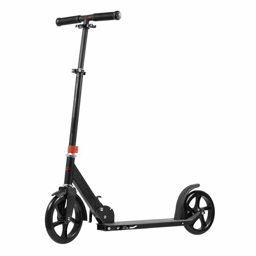 SMJ sport X-TRACK SKL 037 black/red scooter skrejritenis