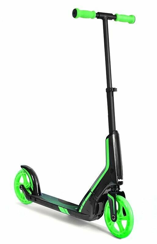 Jdbug MS185 Pro green scooter skrejritenis