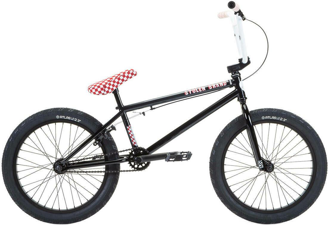"Stolen Stereo 20"" 2021 BMX Freestyle Bike ritenis"