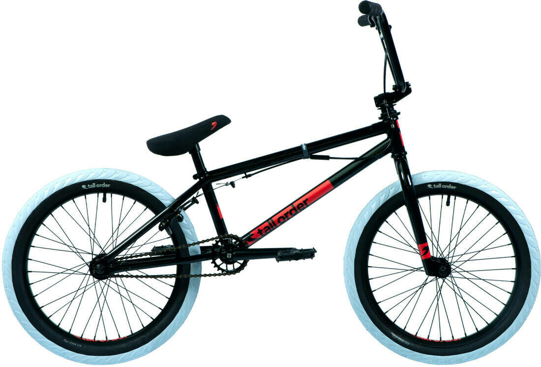 "Tall Order Ramp Gyro 20"" BMX Freestyle Bike Black ritenis"