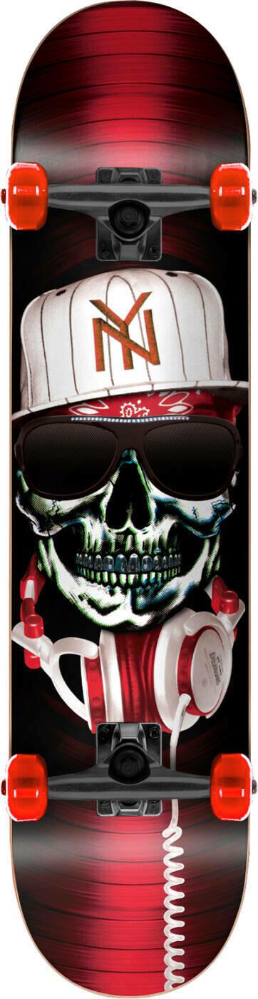 Speed Demons Gang Complete Skateboard red (Krook)