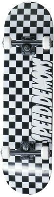 Speed Demons Checkers Complete Skateboard Checkers skrituļdēlis