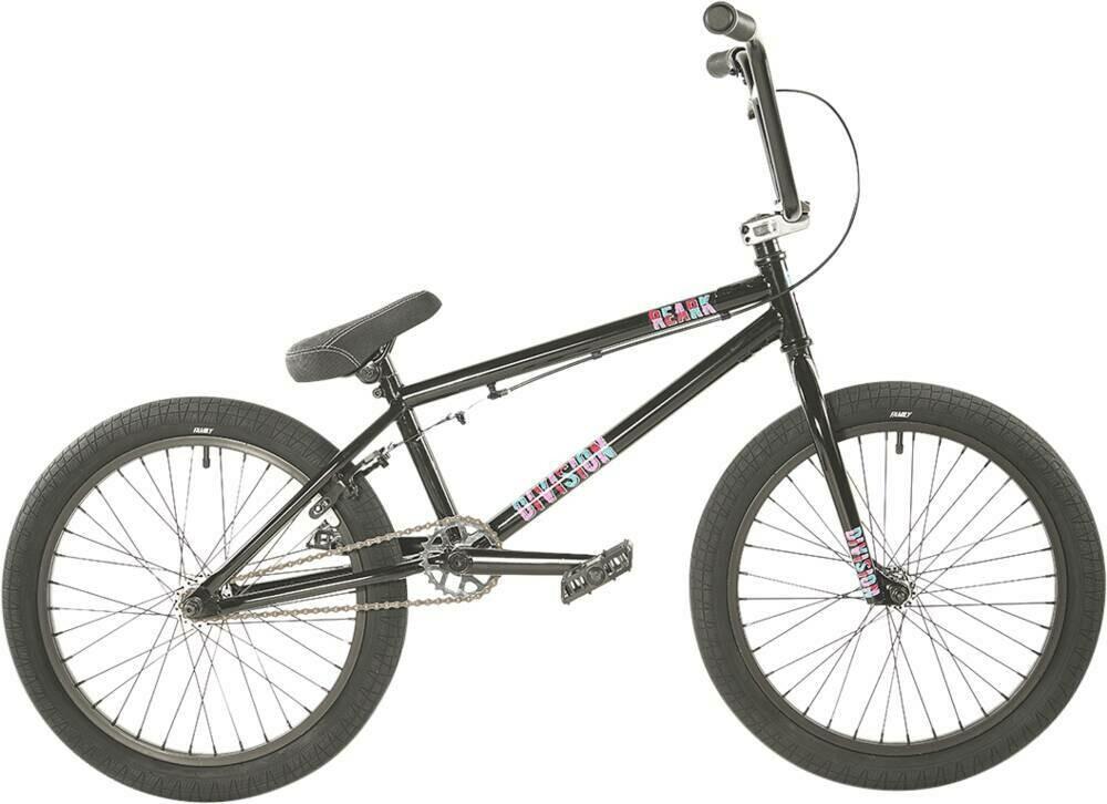 "Division Reark 20"" 2021 BMX Freestyle Bike Black/Polished"