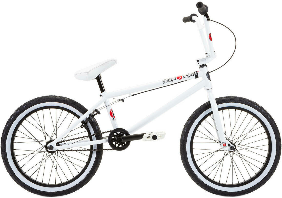 "Stolen Overlord 20"" 2021 BMX Freestyle Bike  Snow Blind"