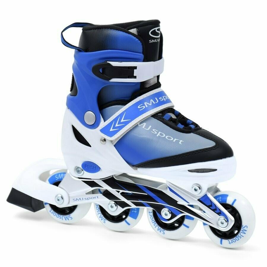 SMJ Sport LEA 2 in 1 skrituļslidas un slidas