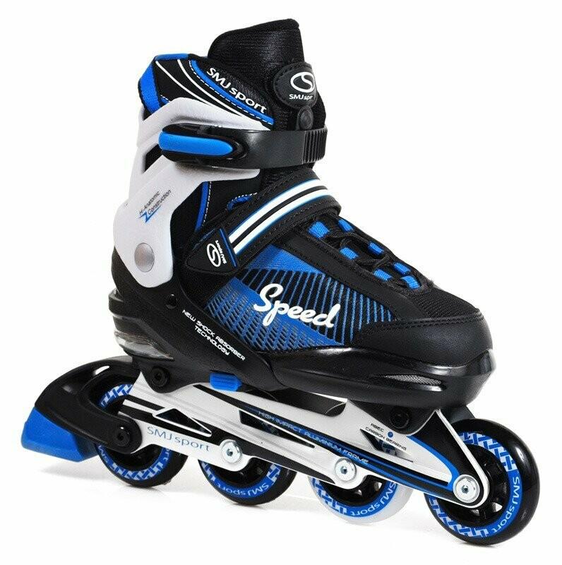 Smj Sport 090A blue skrituļslidas