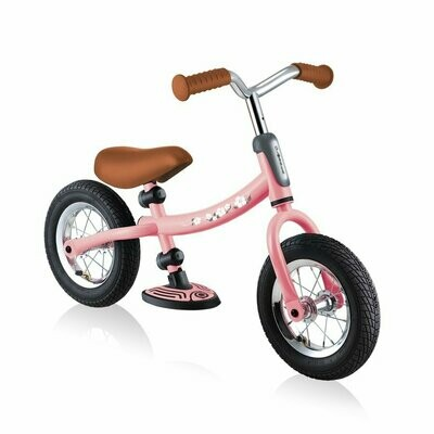 GLOBBER GO BIKE AIR Balance Bike Pink balansa ritenis