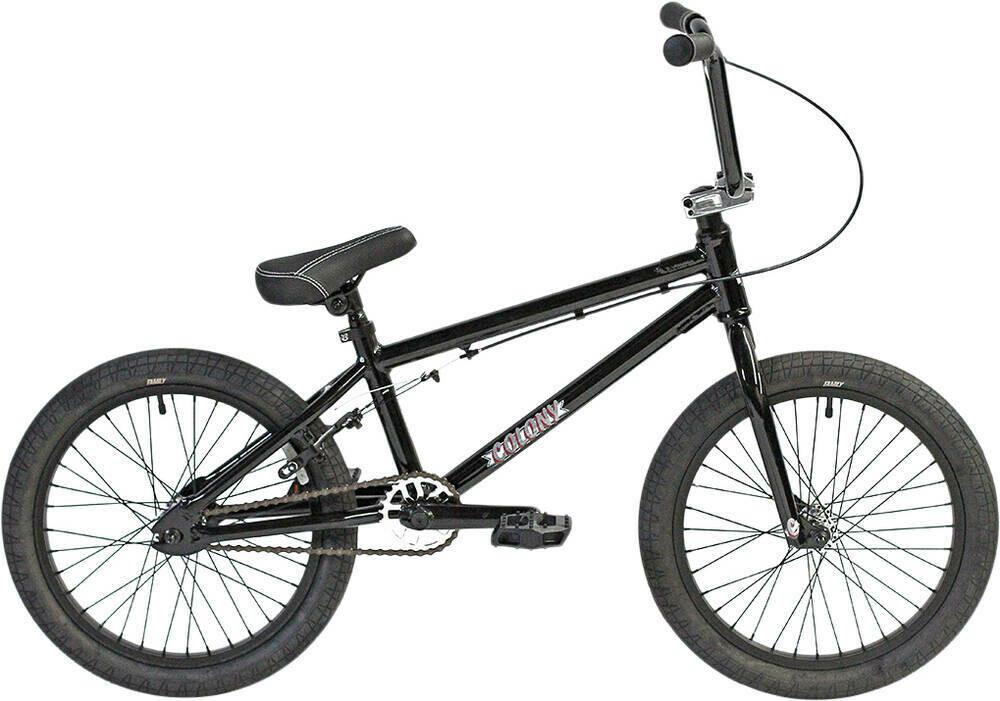 "Colony Horizon 18"" 2021 BMX Freestyle Bike  Gloss Black/Polished"