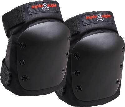 Triple Eight Street Skate Knee Pads Black ceļu aizsargi