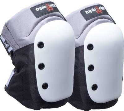 Triple Eight Street Skate Knee Pads White ceļu aizsargi
