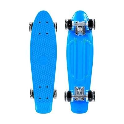 SMJ Sport skateboard Blue LED
