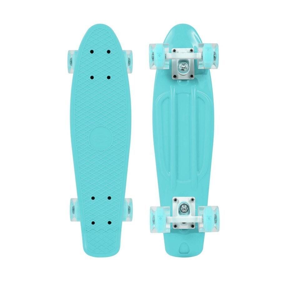 SMJ Sport skateboard MINT  LED skrituļdēlis
