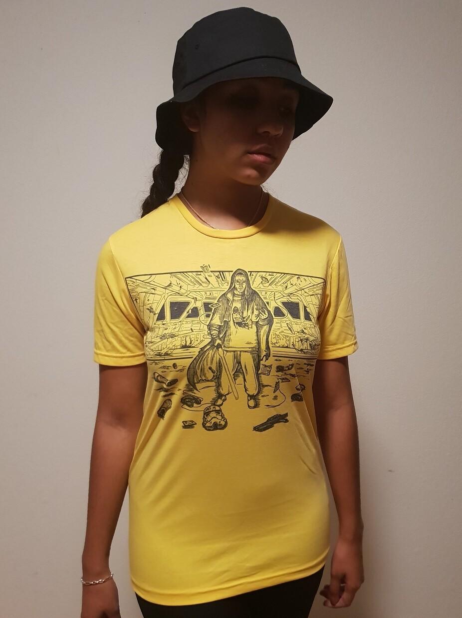 Rap Jedi - T-Shirt - Yellow Edition