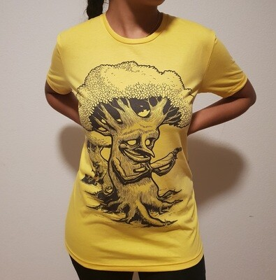 Smoking Trees - T-Shirt - Yellow Edition