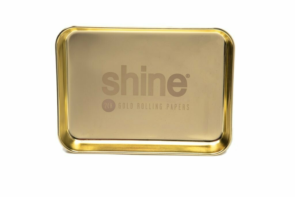Shine® Gold Rolling Tray