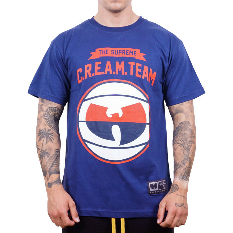 WU WEAR - CREAM TEAM T-SHIRT - WU-TANG CLAN