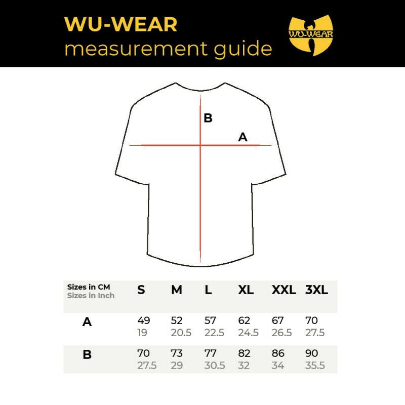 WU WEAR - WU-TANG CLAN LOGO T-SHIRT - WU-TANG CLAN
