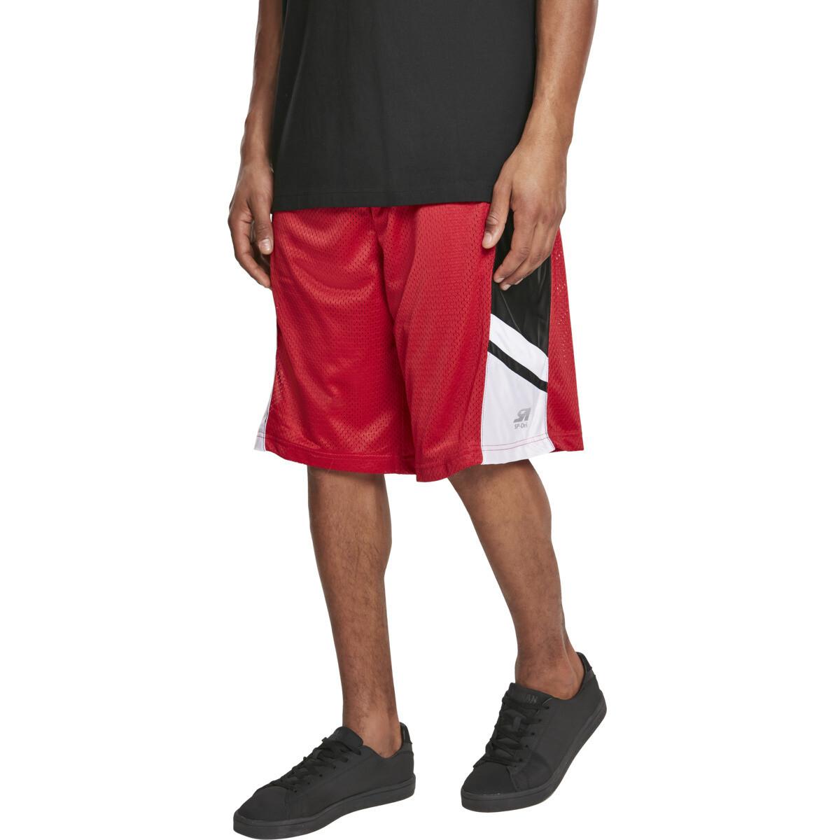 Basketball Mesh Shorts - Rot
