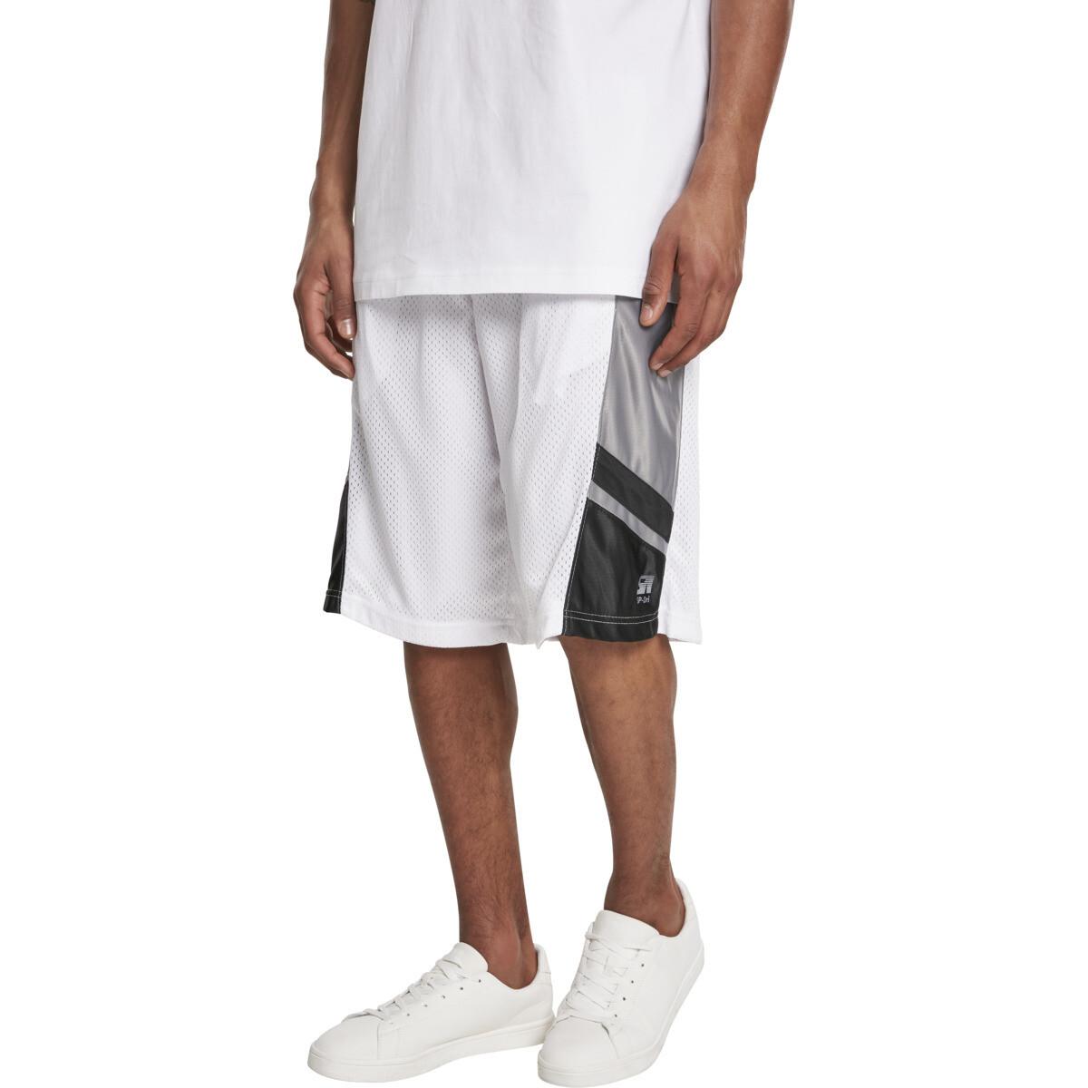 Basketball Mesh Shorts - Weiss