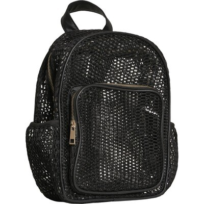 Lady Backpack Mesh Transparent
