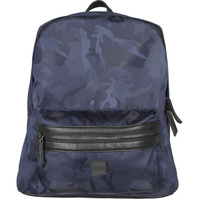 Camo Jacquard Backpack - Navy Camo