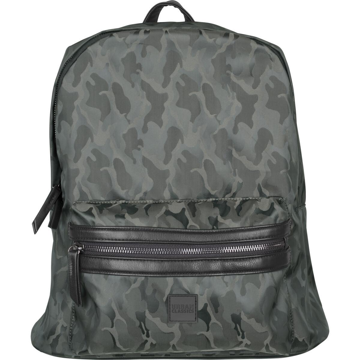 Camo Jacquard Backpack - Dunkel Olive Camo