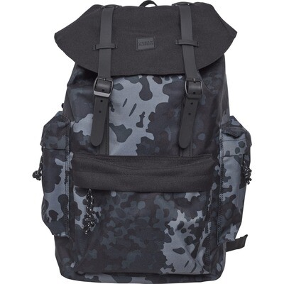 Backpack With Multibags - Dark Camo