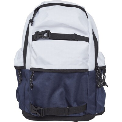 Backpack Colourblocking - Weiss/Navy/Schwarz