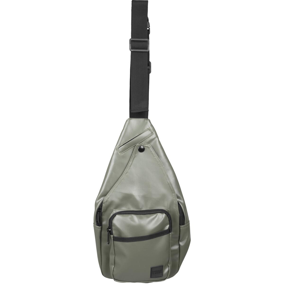 Multi Pocket Shoulder Bag - Olive
