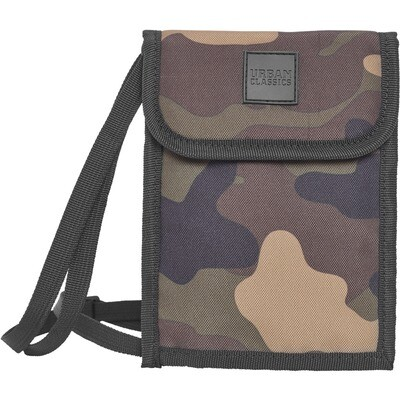 Neck Pouch Oxford - Wood Camo
