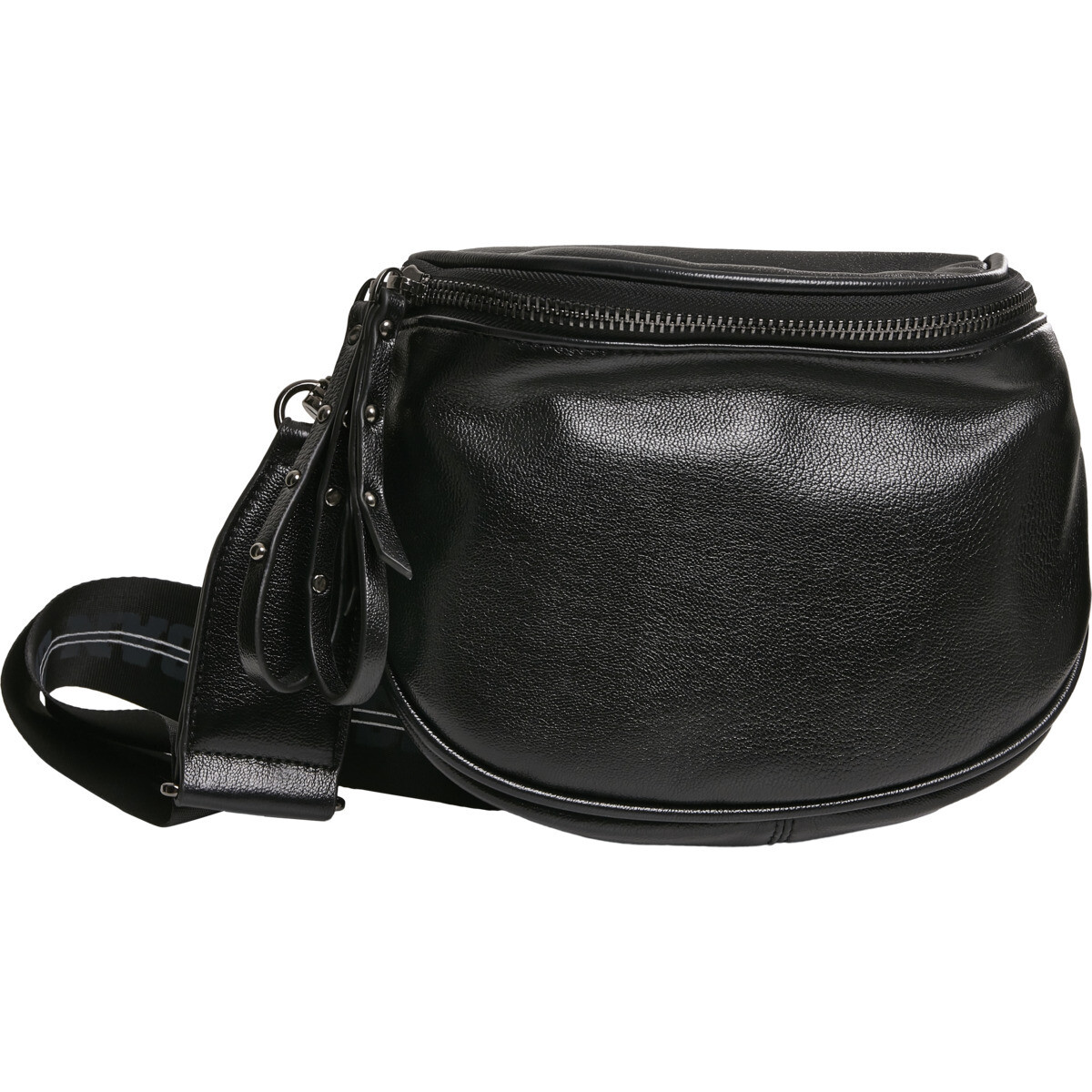 Imitation Leather Crossover Bag