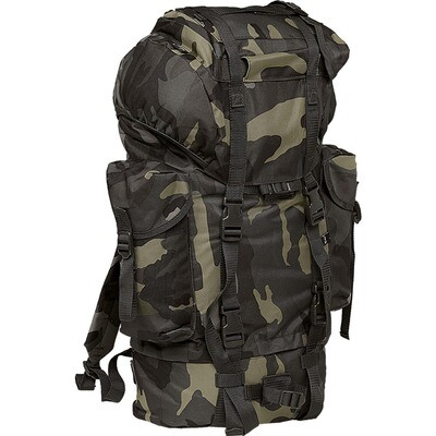 Nylon Military Backpack- Camouflage