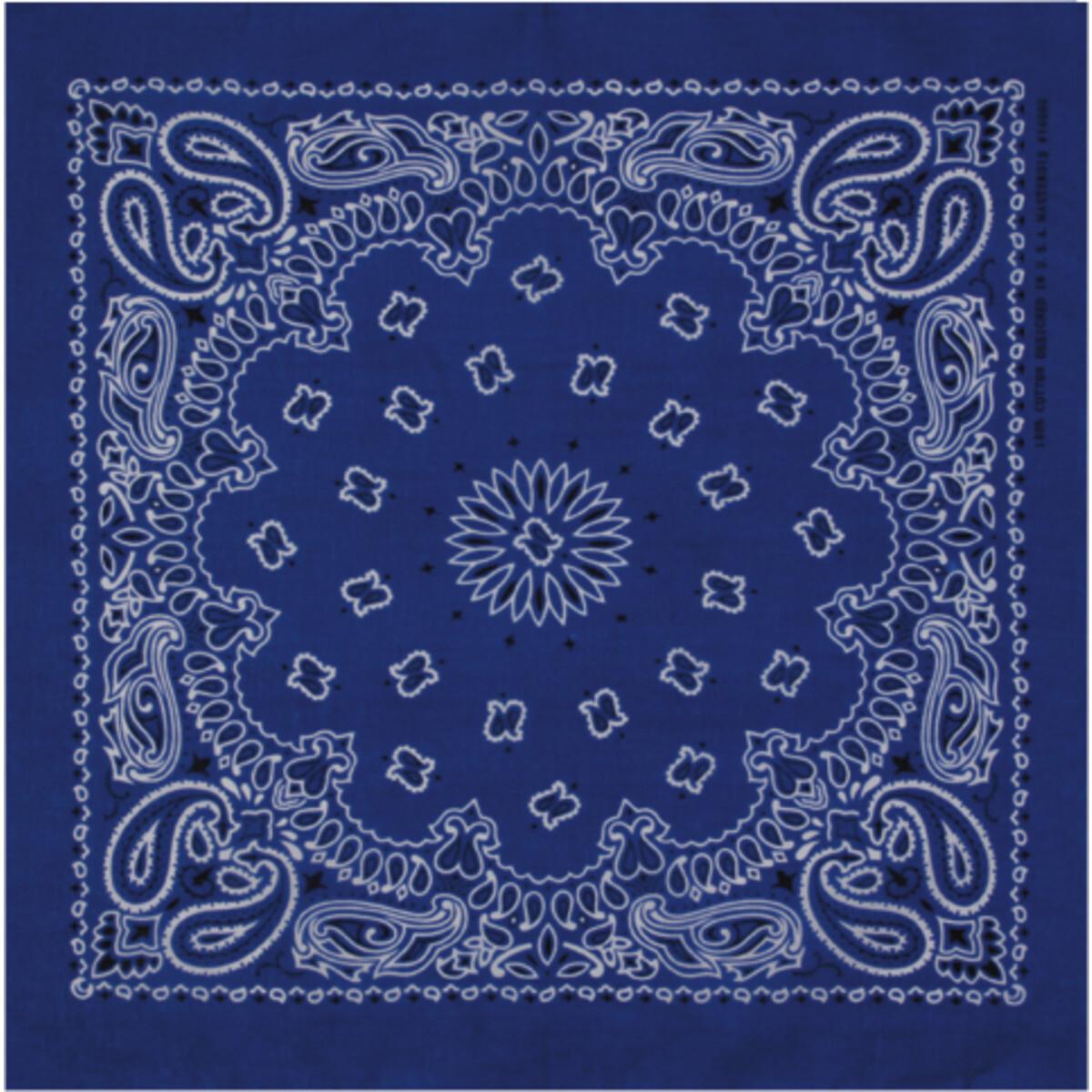 Bandana - Royal Blau
