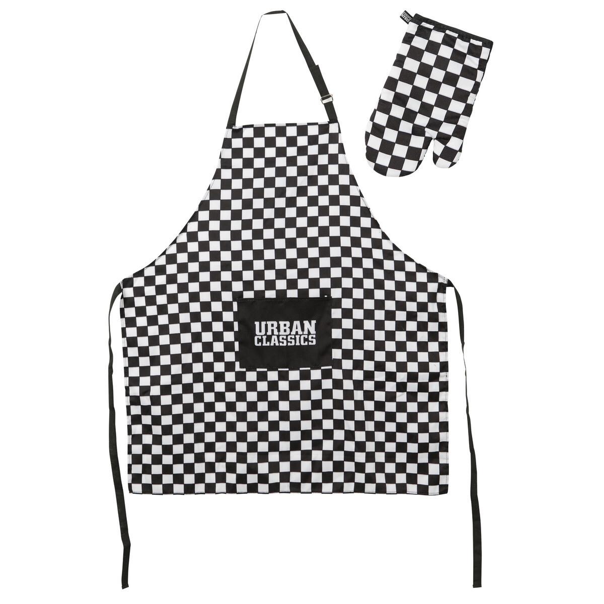 Barbecue Set - Schwarz/Weiss